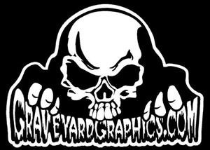 GraveyardGraphicscom Custom Vinyl Graphics For Your Mini Full - Cool custom motorcycle stickers